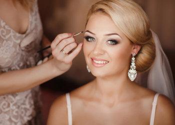 Bride's-make-up