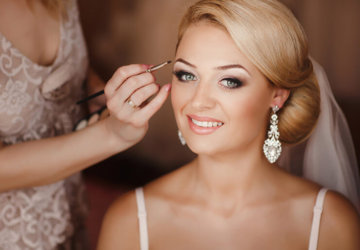 Bride's-make-up