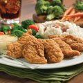 Chicken Strips Dinner