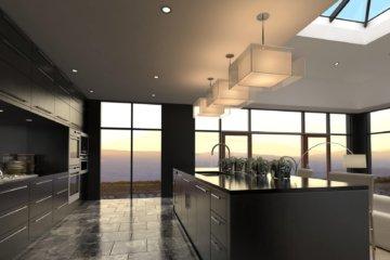 Modern Design Luxurious Kitchen Interior