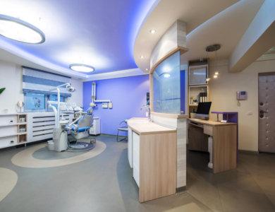 Dentistry office interior