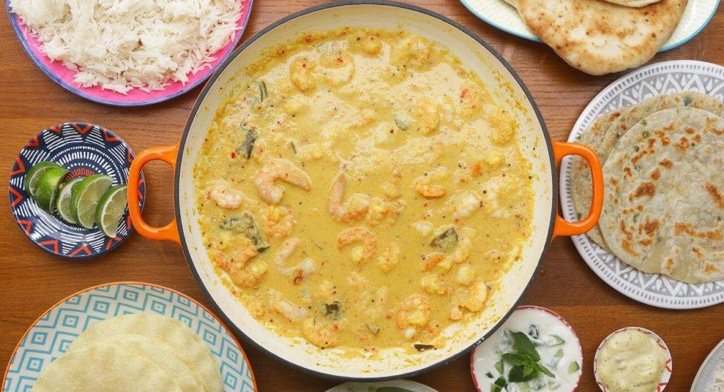 Kerala-Style Prawn Curry